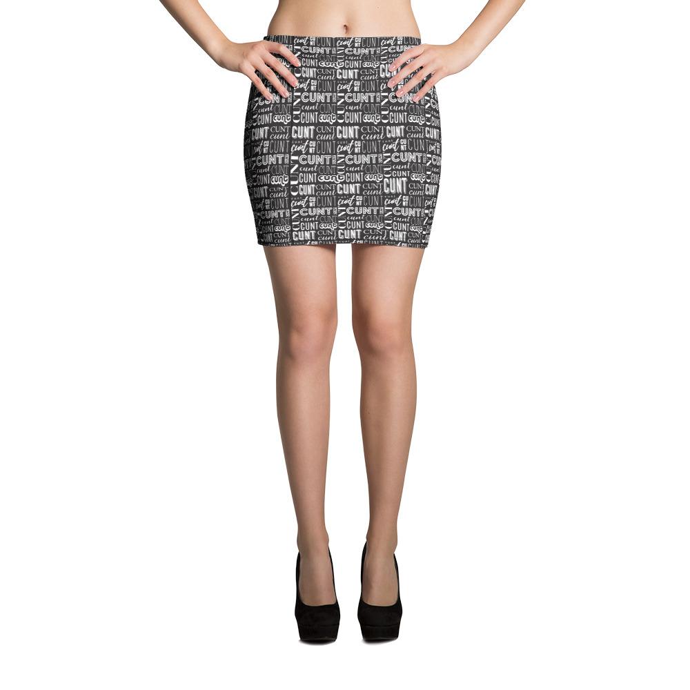 Cunt Word Web Skirt