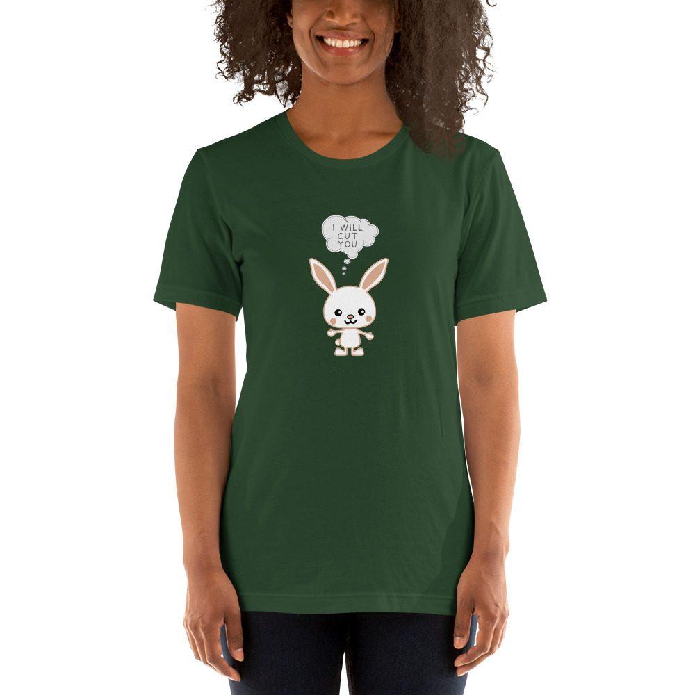 I Will Cut You Bunny T-Shirt